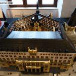 Rathaus Wiesbaden von oben